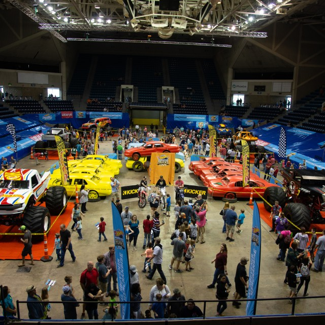Hot Wheels Monster Trucks, Albany Civic Center, Feburary 2019