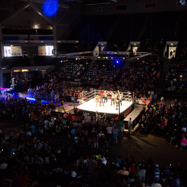 WWE, Albany Civic Center, August 2018